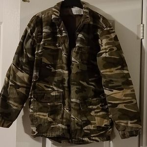 Camo jacket with lining